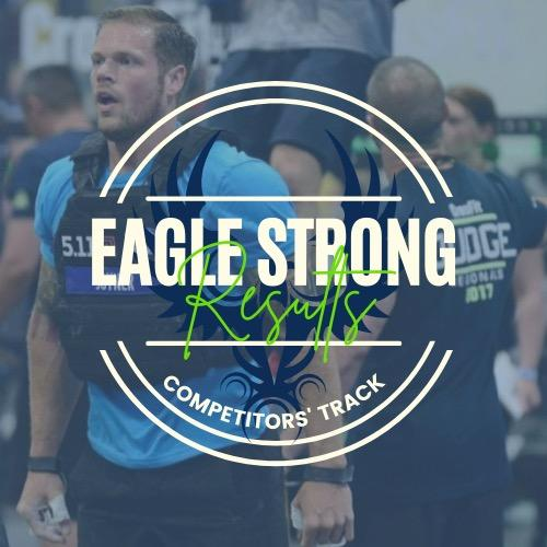 Eagle Strong Results: Competitors Track logo